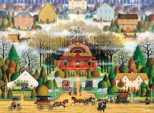 Buffalo Games Melodrama in the Mist by Charles Wysocki Jigsaw Puzzle 1000 Piece
