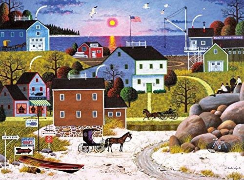 Buffalo Games Whalers Bay by Charles Wysocki Jigsaw Puzzle 1000 Piece