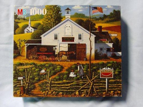 Charles Wysocki 1000 Piece Jigsaw Puzzle Titled Pickin Bugs