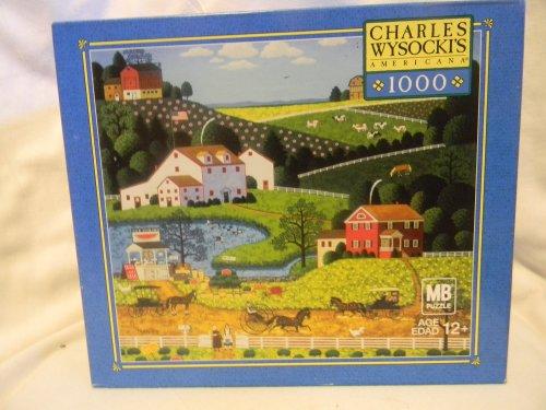 Charles Wysockis Americana 1000 Pc Jigsaw Puzzle - Jolly Hill Farms