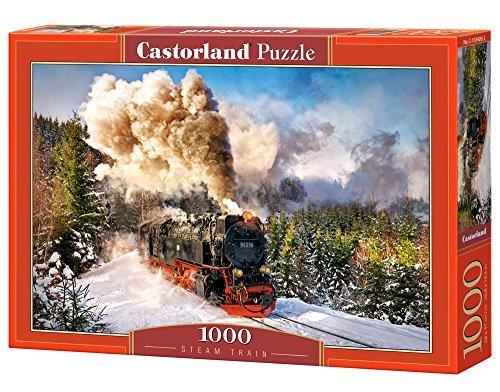 Castorland Steam Train Jigsaw Puzzle 1000-Piece Multi-Colour by Castorland