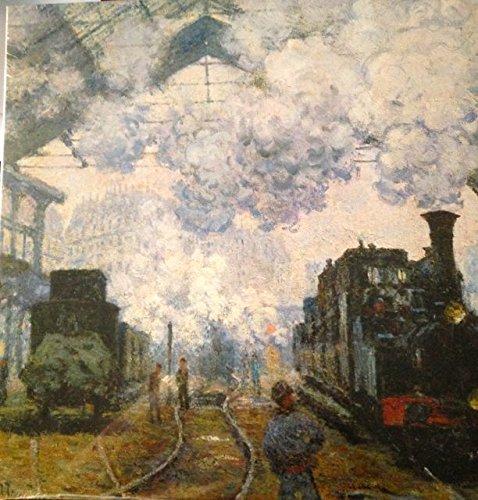 Claude Monet - The Gare Saint-Lazare Arrival of a Train - Jigsaw Puzzle - 500 Pc