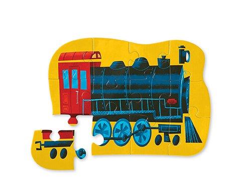 Crocodile Creek Locomotive Train Jigsaw Puzzle 12 Piece
