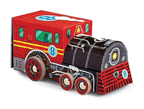 Crocodile Creek Locomotive Train Jigsaw Puzzle in Train Shaped Box 48 Piece 8