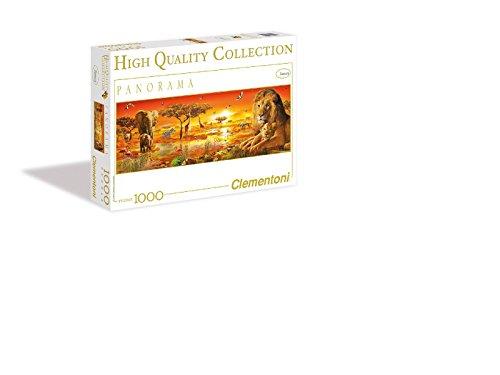 Clementoni African Savannah 1000 Piece Panoramic Jigsaw Puzzle