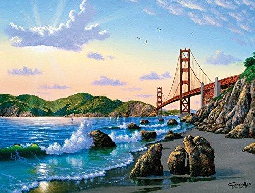 SUNSOUT INC Bridge View 500 pc Jigsaw Puzzle