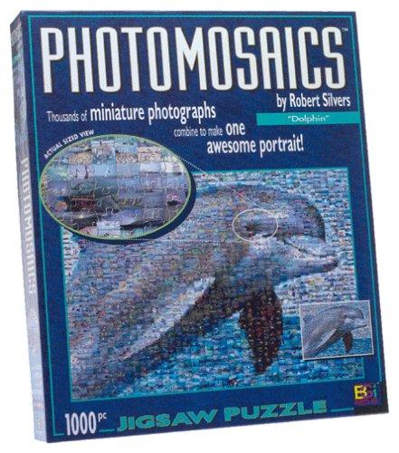 Photomosaic Dolphin Jigsaw Puzzle 1000pc
