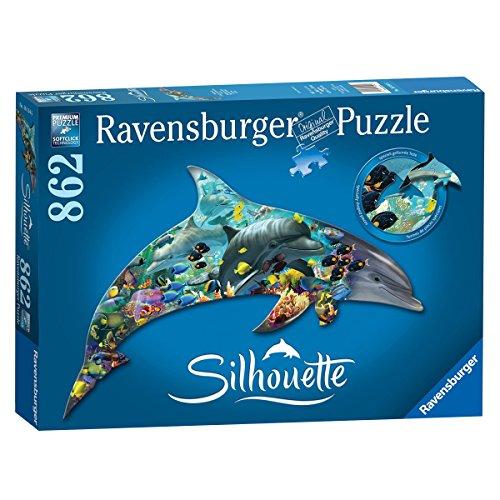 Ravensburger Dolphin Jigsaw Puzzle 862 Piece