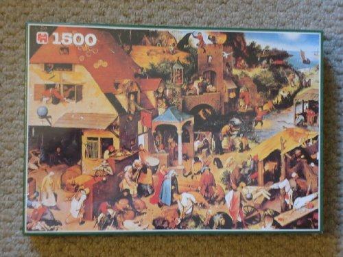 Jumbo 1500 Jigsaw Puzzle Proverbs By Pieter Bruegel by Jumbo