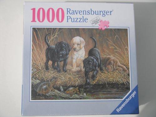 RAVENSBURGER 1000 PIECES PUZZLE TURTLE HUNTERS