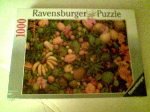 Ravensburger 1000 Piece Puzzle ca 70 X 50 cm - Tropical Fruits c1995