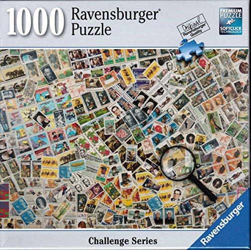 Ravensburger Stamp Challenge 1000 Piece Puzzle