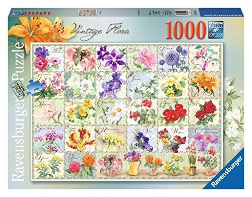 Ravensburger Vintage Flora Puzzle 1000-Piece