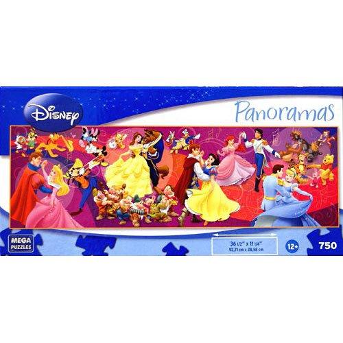 Disney Panoramas Shall We Dance 750 Piece Puzzle