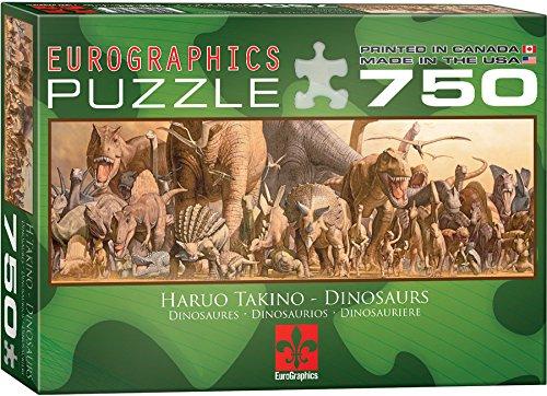 EuroGraphics Dinosaurs Jigsaw Puzzle 750 Piece Puzzle