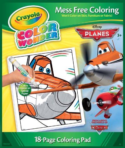 Crayola Color Wonder Disney Planes Coloring Book and Markers