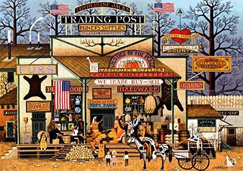 Buffalo Games Charles Wysocki Timberline Jacks Large Jigsaw Puzzle 300 Piece by Buffalo Games