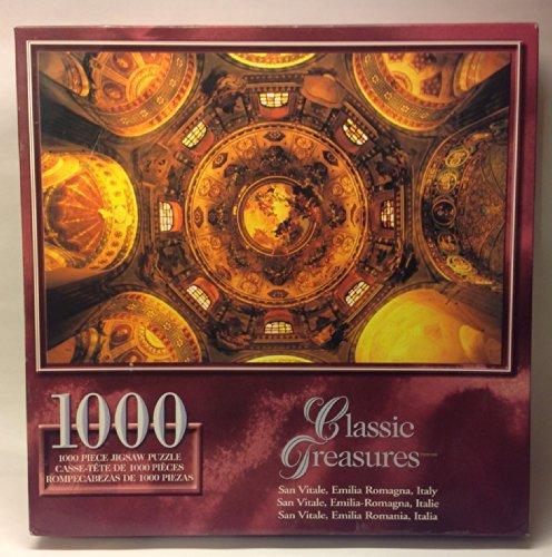 Classic Treasures 1000-Piece Large Jigsaw Puzzle - San Vitale Emilia Romagna Italy