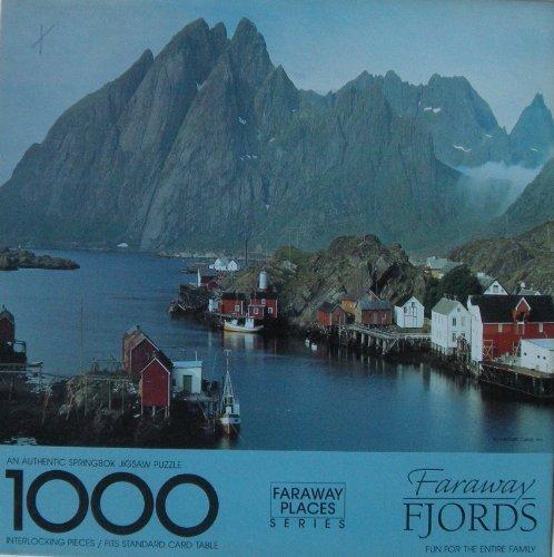 Faraway Fjords - Springbok 1000 Piece Puzzle by Springbok