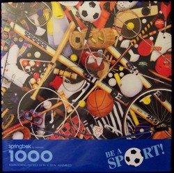 Springbok 1000 Piece Puzzle - Be a Sport by Hallmark