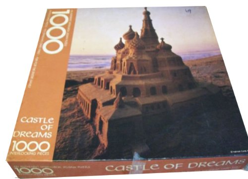 Springbok 1000 Piece Puzzle - Castle of Dreams - Sand Castle on The Beach - PZL5937