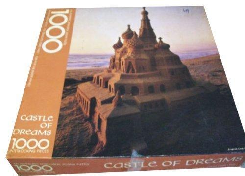 Springbok 1000 Piece Puzzle - Castle of Dreams - Sand Castle on The Beach - PZL5937 by Hallmark