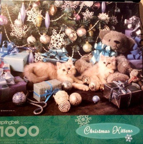 Springbok 1000 Piece Puzzle - Christmas Kittens by Hallmark