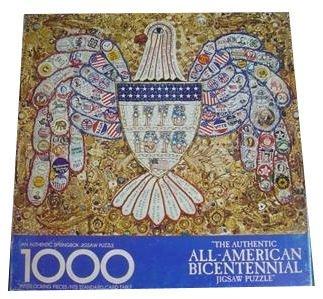 Springbok 1000 Piece Puzzle - The Authentic All-American Bicentennial Puzzle - PZL5904