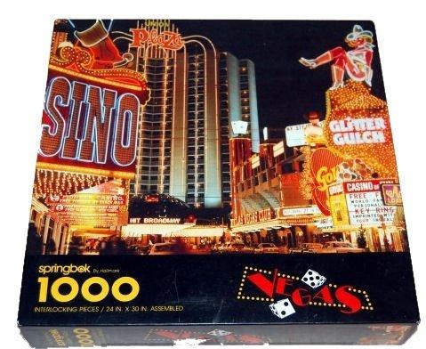 Springbok 1000 Piece Puzzle - Vegas PZL6143