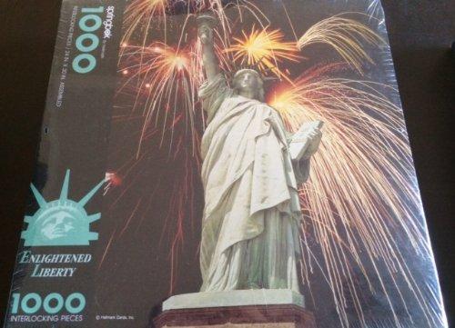 Vintage Springbok 1000 Piece Puzzle - Enlightened Liberty by Springbok