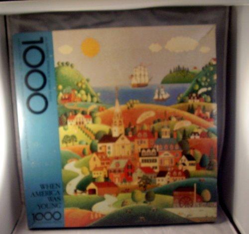When America Was Young Vintage Springbok 1000 Piece Puzzle PZL5928