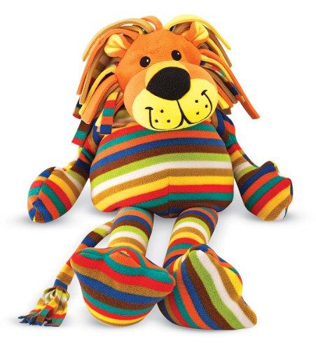 Melissa Doug Elvis Lion - Patterned Pal Stuffed Animal
