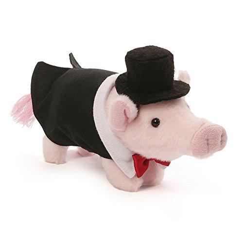Gund Formal Pop Mini Pig Stuffed Animal Plush 6