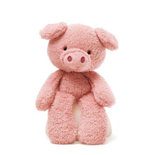 Gund Fuzzy Pig Stuffed Animal by GUND