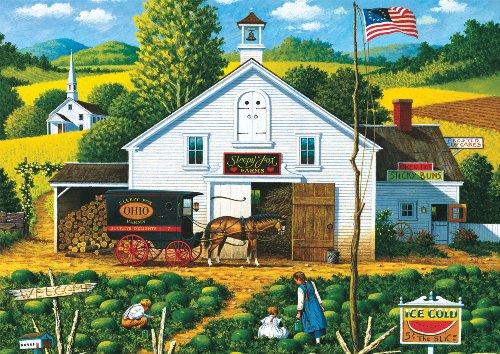 Buffalo Games Charles Wysocki  Catchin Bugs - 300 Piece Jigsaw Puzzle by Buffalo Games
