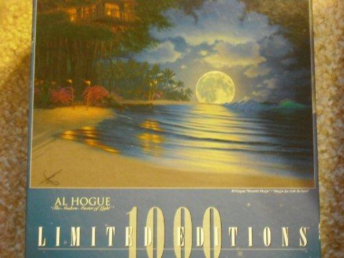 Limited Editions 1000 Al Hogue Moonlit Magic Jigsaw Puzzle
