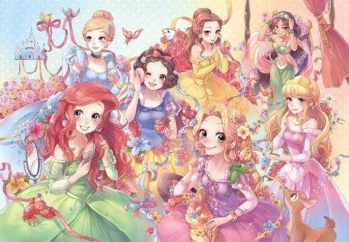 Japan Jigsaw Puzzle Purely Disney Princess Pure White 1000 Pieces DP-1000-023