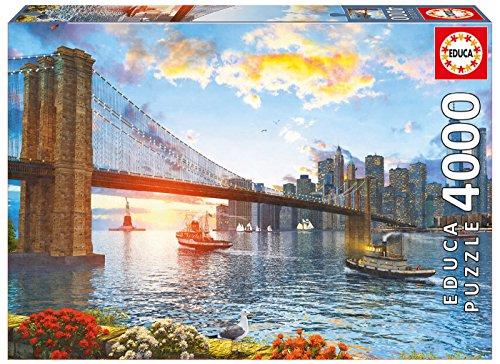 Brooklyn Bridge - Educa 4000 Piece Puzzle