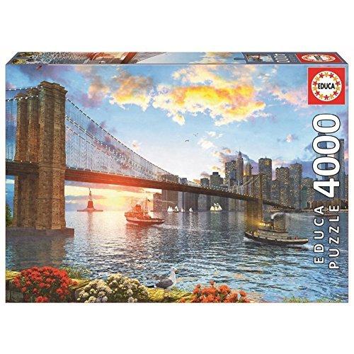 Brooklyn Bridge - Educa 4000 Piece Puzzle by Educa