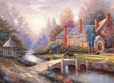 Peaceful Autumn 4000 Piece Puzzle