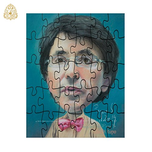 30 Pieces Puzzle frameless Design Elio Di Rupo rectangular 24x19 cm Prof Stefan Popa PopaS  VIP Pictures World powered by CRISTALICA