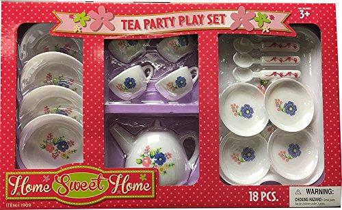 Tea Party - Pretend Play Kitchen Play Set - 1 Set