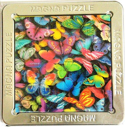 3-D Magna Puzzle Butterflies 16 Piece Puzzle Size 45 X 44 approx