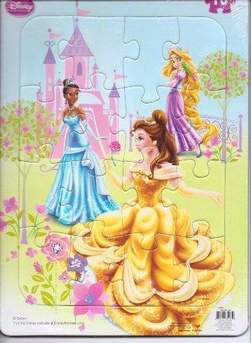 Disney Princess Jigsaw Frame Puzzle - 16 Pieces