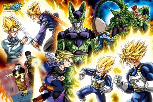 1000 pieces TV Anime Dragon Ball Z Cell Evolution 50 x 75 cm Jigsaw Puzzle JAPAN