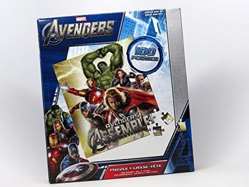 Marvel Avengers Puzzle Set of 3 100 Pieces