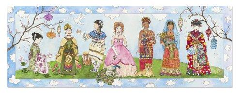 Melissa Doug Princesses of the World Jumbo Jigsaw Floor Puzzle 48 pcs over 4 feet long