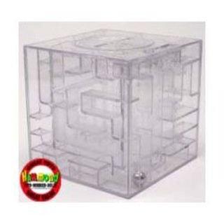 Money Puzzle Maze Bank Box Brain Teaser Hammond Toys Brand