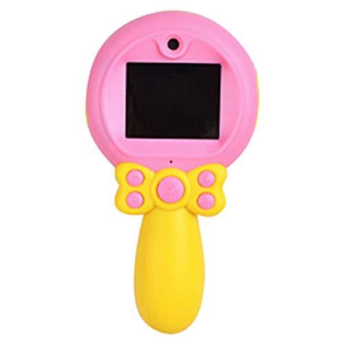 Debuy Kids Camera Digital Front Rear Selfie Cameras Toddler Video Recorder USB Charging Mini Camera Pink