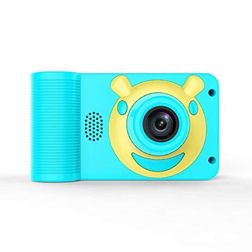 Kids Camera Children Selfie Camera Mini 20 1080P HD Digital Camera for Kids USB Rechargeable 32GB Memory Card Digital Video Camera - Pink Blue